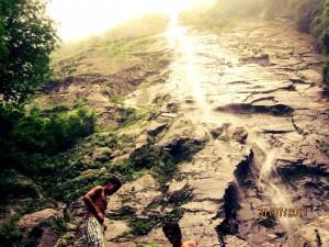 Gaun Beed water fall Thachi.